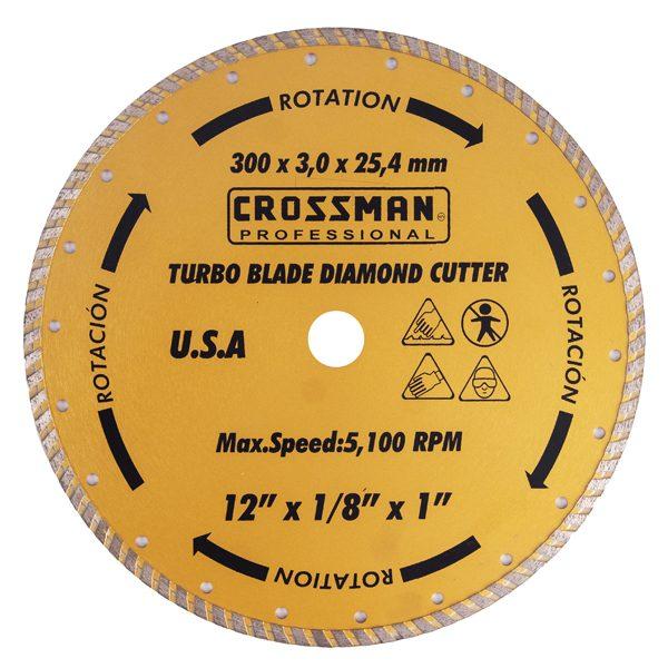 20-120B-1 Disco 305X3,2X25,4 Corona Continua Turbo.